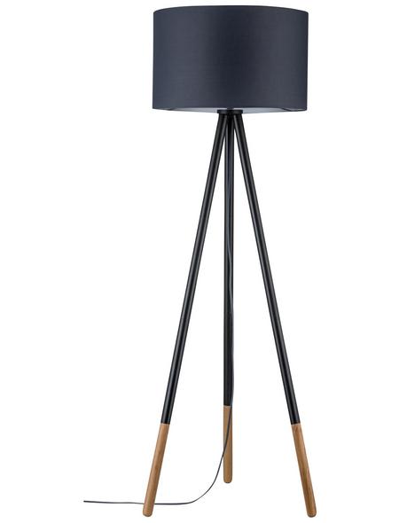 PAULMANN Stehleuchte »Neordic Rurik«, grau/natur, Höhe: 153  cm