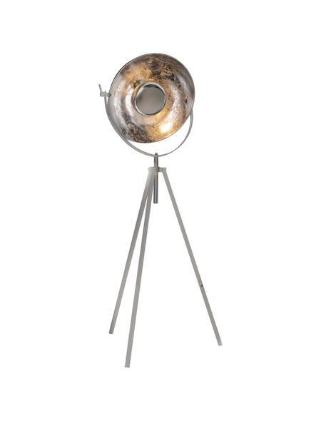 GLOBO LIGHTING Stehleuchte »NOSY« nickelfarben mit 60 W, H: 179 cm, E27 ohne Leuchtmittel