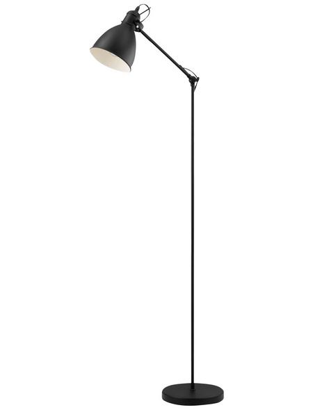 EGLO Stehleuchte »PRIDDY« schwarz mit 40 W, H: 137 cm, E27 ohne Leuchtmittel