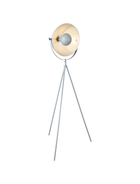 GLOBO LIGHTING Stehleuchte »SANDRA« grau mit 60 W, H: 160 cm, E27 ohne Leuchtmittel