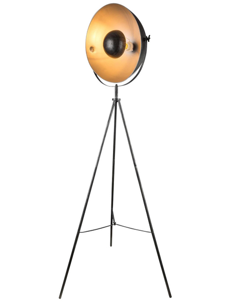 GLOBO LIGHTING Stehleuchte »SANDRA«, Schirm-ØxH: 40 x 160 cm, E27 , ohne Leuchtmittel in