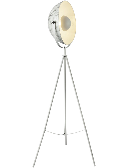 GLOBO LIGHTING Stehleuchte »SANDRA« Weiß mit 60 W, H: 160 cm, E27 ohne Leuchtmittel