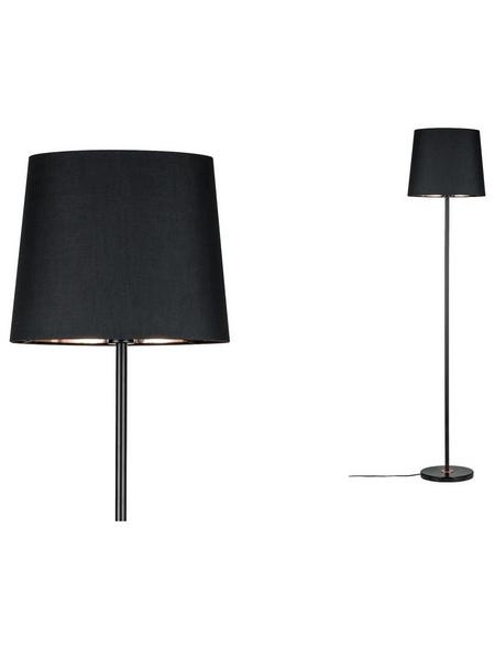 PAULMANN Stehleuchte schwarz/kupferfarben mit 20 W, H: 160 cm, E27 ohne Leuchtmittel