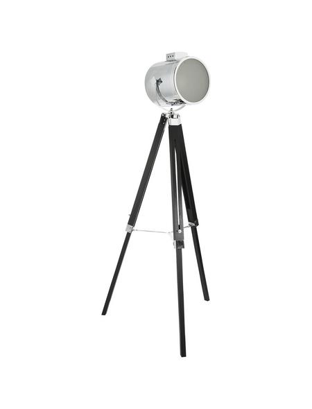 EGLO Stehleuchte »UPSTREET« schwarz/chromfarben mit 60 W, Schirm-Ø x H: 23 x 98; 150 cm, E27 ohne Leuchtmittel