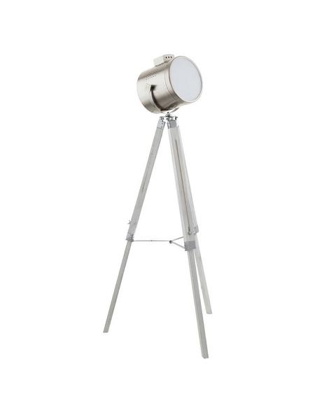 EGLO Stehleuchte »UPSTREET« weiß/nickelfarben/gruen mit 60 W, Schirm-Ø x H: 23 x 98; 150 cm, E27 ohne Leuchtmittel