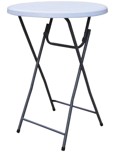 WESTERHOLT Stehtisch, BxHxT: 81 x 110 x 84 cm, Tischplatte: Kunststoff