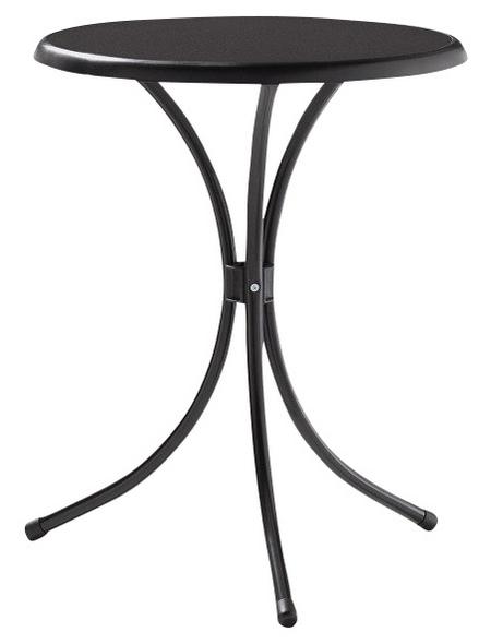 SIEGER Stehtisch, mit Mecalit-pro-Tischplatte, Ø x H: 60 x 72 cm