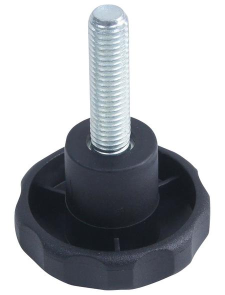 CONNEX Sterngriffschraube, M6 x 40 mm, Kunststoff/Metall, 1x Stück