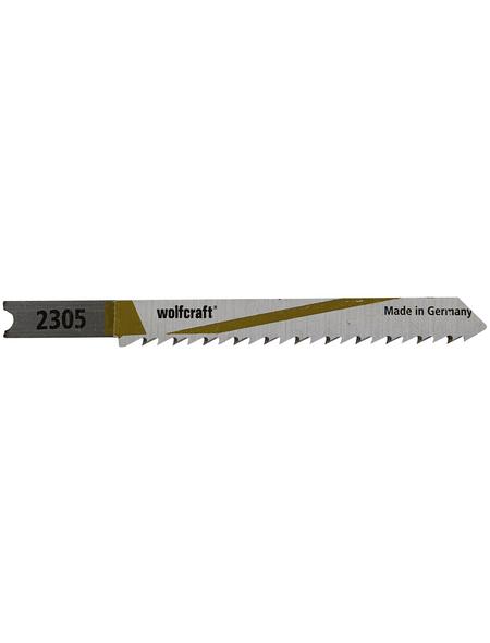 WOLFCRAFT Stichsägeblatt  Bohrdurchmesser