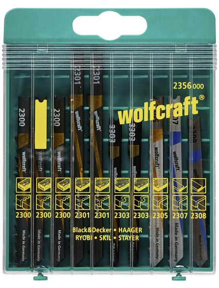 WOLFCRAFT Stichsägeblatt-Set  Bohrdurchmesser