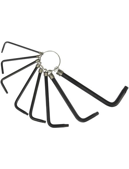 CON:P Stiftschlüsselsatz 8-teilig, Schlüsselgröße: 2,5 – 6,7 mm