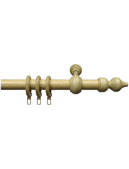 LIEDECO Stilgarnitur »Thüringen«, Länge 2400 mm, Ø 28 mm, holz