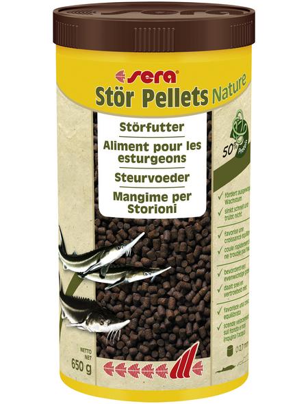 sera Störfutter »Stör Pellets Nature«, Pond, 1000 ml (650g)