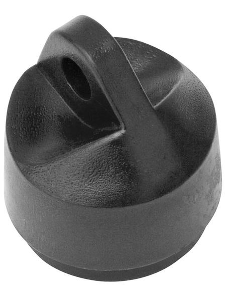 FLORAWORLD Strebenkappe, BxHxT: 4 x 4 x 4 cm, anthrazit, für Strebenabdeckung