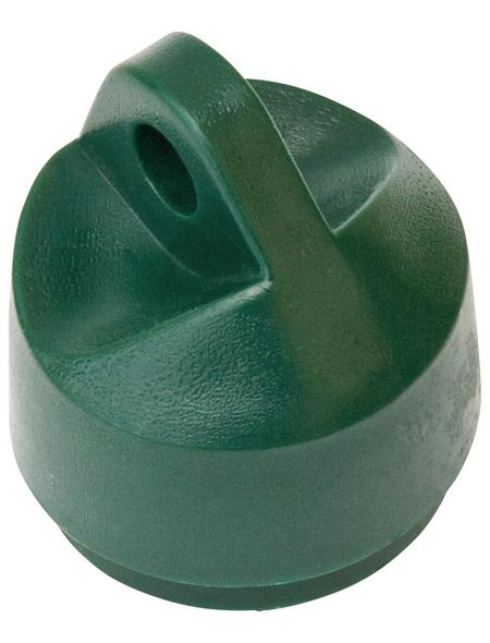 FLORAWORLD Strebenkappe, BxHxT: 4 x 4 x 4 cm, grün, für Strebenabdeckung