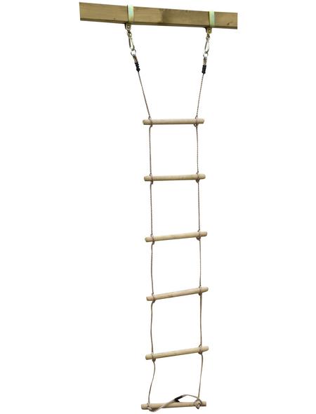 AKUBI Strickleiter, BxHxL: 14 x 9 x 31 cm, natur