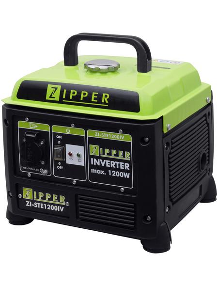 ZIPPER Stromerzeuger »ZI-STE 1200IV«, 1,1 kW, Benzin, Tankvolumen: 4,2 l