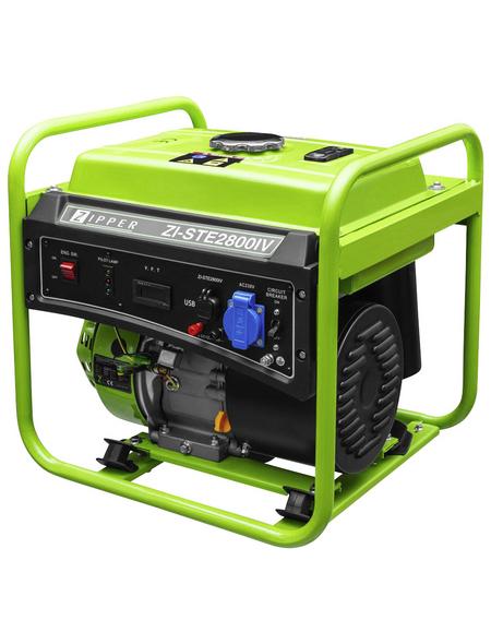 ZIPPER Stromerzeuger »ZI-STE2800IV«, 4,5 kW, Benzin, Tankvolumen: 5 l