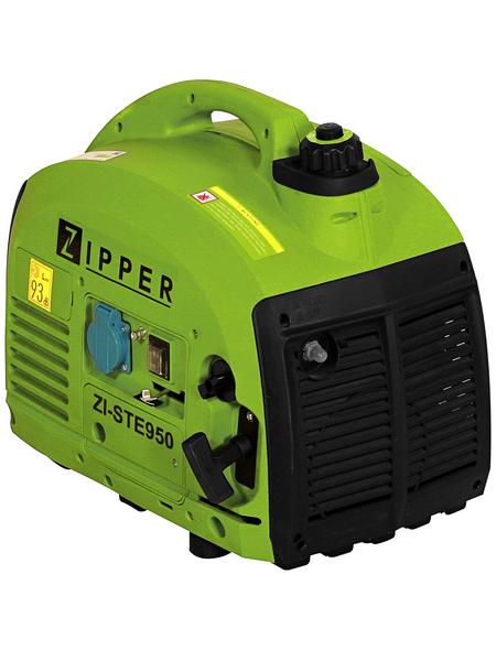ZIPPER Stromerzeuger »ZI-STE950A«, 1,5 kW, Benzin, Tankvolumen: 2,5 l