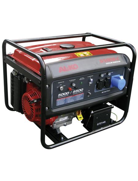 AL-KO Stromerzeugungsaggregat »6500«, 5,5 kW, Benzin, Tankvolumen: 25 l
