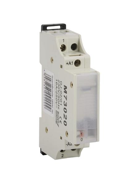 Stromstoßschalter, 1 S 230V, 16 A, Grau