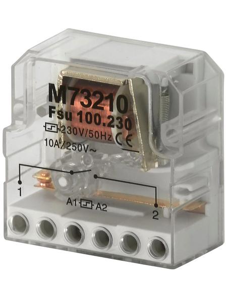 Stromstoßschalter, 230 V, Schließer, Glühlampemleistung 2000 W, Grau