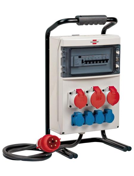 Brennenstuhl® Stromverteiler, 7-fach, 2 m