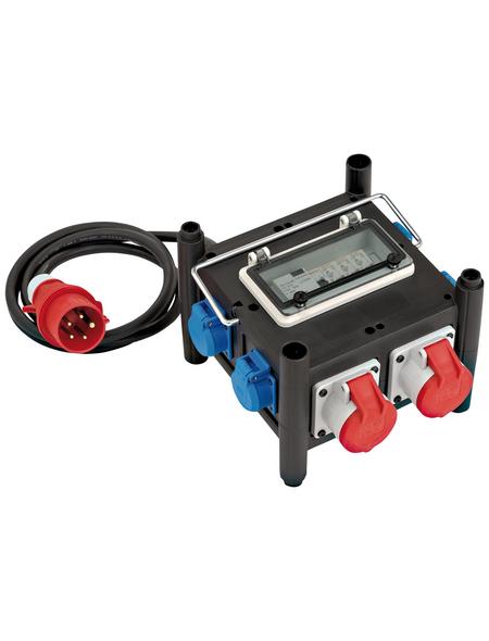 Brennenstuhl® Stromverteiler »BSV 3 FI/16 2 IP44 1153690200«, 6-fach, Kabellänge: 2 m