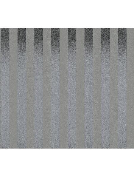 Strukturprofiltapete »Zircon«, grau/silberfarben, strukturiert