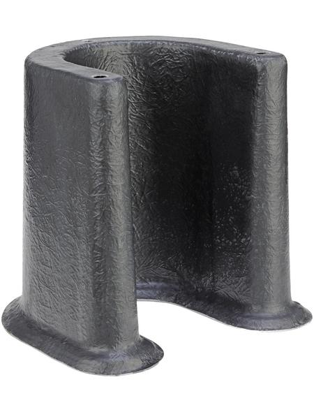 OASE Stützelement »U-Base«, B x H: 33,75 x 36,5 cm, Kunststoff, grau