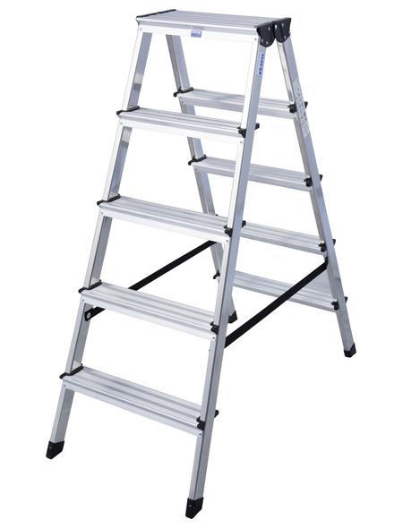KRAUSE Stufen-Doppelleiter »MONTO«, Anzahl Sprossen 10