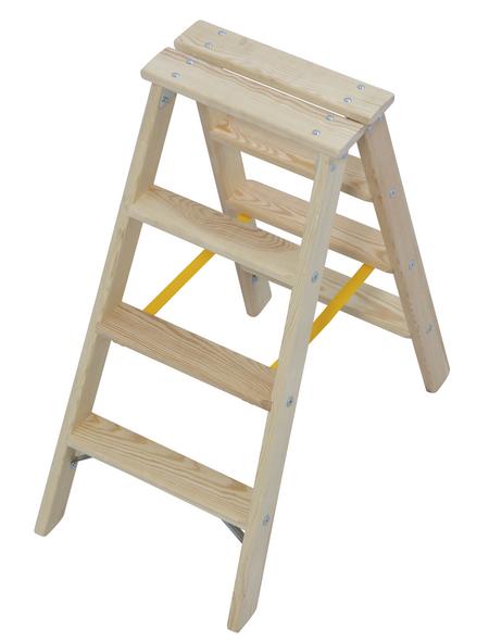 KRAUSE Stufen-Doppelleiter »STABILO«, Anzahl Sprossen 8