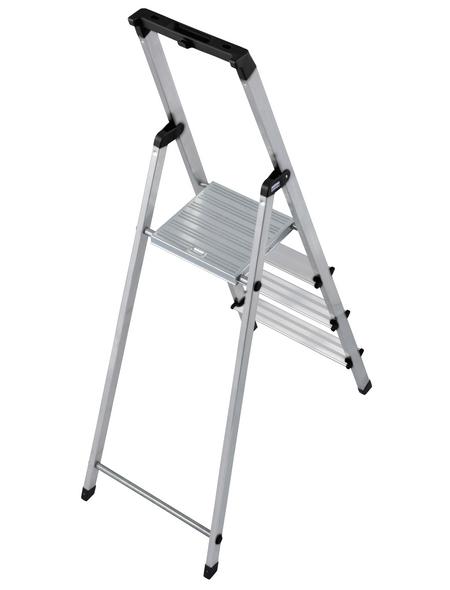 KRAUSE Stufen-Stehleiter »MONTO«, Anzahl Sprossen 4