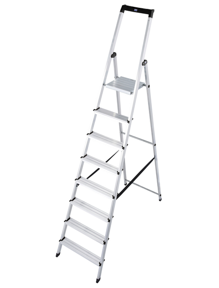 KRAUSE Stufen-Stehleiter »MONTO«, Anzahl Sprossen 8