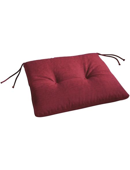 BEST Stuhlauflage »Sitzkissen«, B x L x H: 46  x 45  x 5 cm