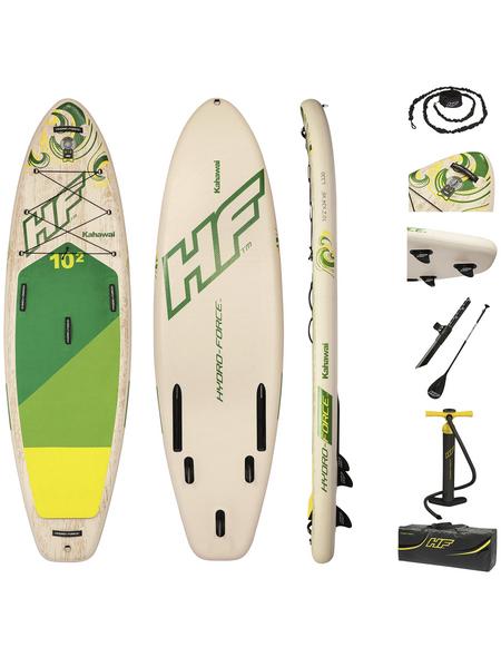 BESTWAY SUP-Riverboard-Set »Kahawai«, L x B x H: 310  x 86  x 15  cm, Nutzlast: 140  kg