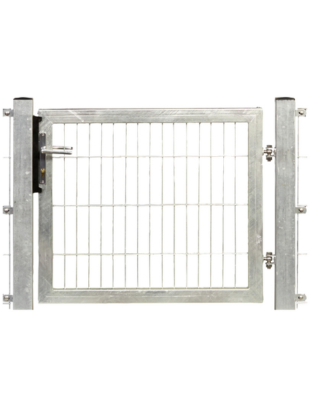 FLORAWORLD Systemtor »Premium«, BxH: 125 x 190 cm, Stahl, silberfarben