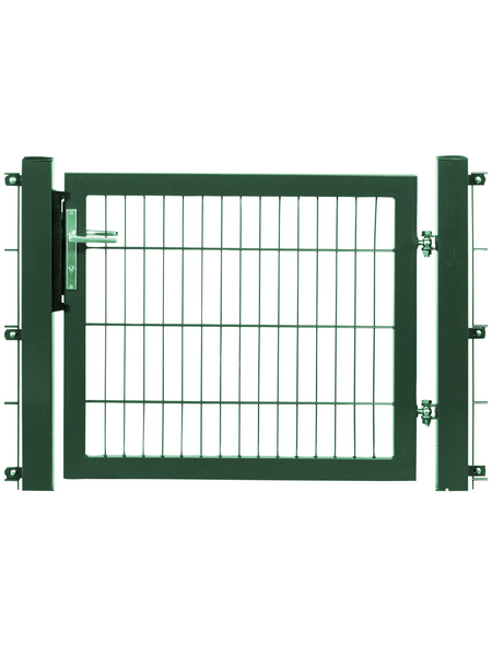 FLORAWORLD Systemtor »Premium«, BxH: 125 x 250 cm, Stahl, grün