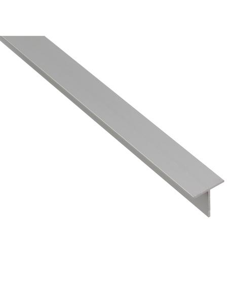 GAH ALBERTS T-Profil Alu silber 2000 x 35 x 35 x 3 mm