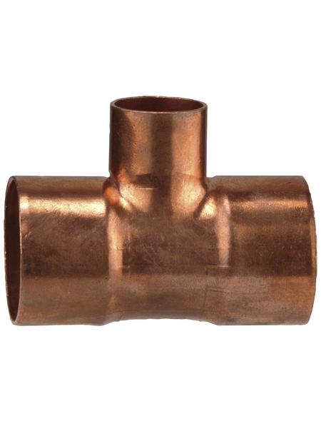 CORNAT T-Stück, ein reduzierter Abgang, 22x15x22 mm