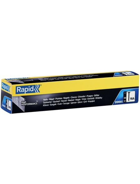 RAPID Tackernägel, 38 mm, Nageltyp 16A, 2000 Stück, Kartonbox