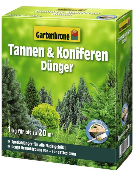 GARTENKRONE Tannen-Koniferen-Dünger 1 kg