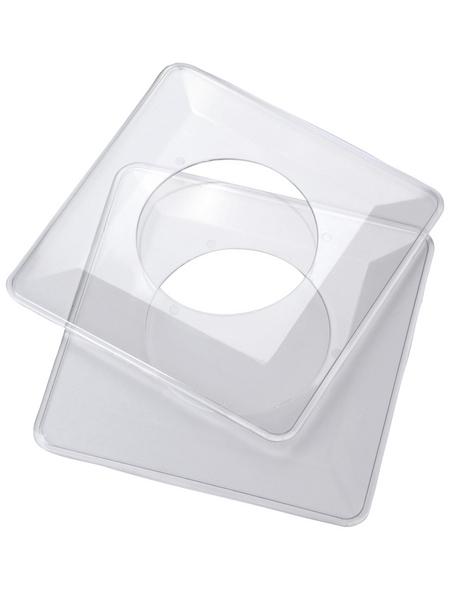 REV Tapetenschoner, 1-fach, Transparent, Kunststoff