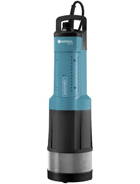 GARDENA Tauchdruckpumpe, 1050 W, Fördermenge: 6000 l/h