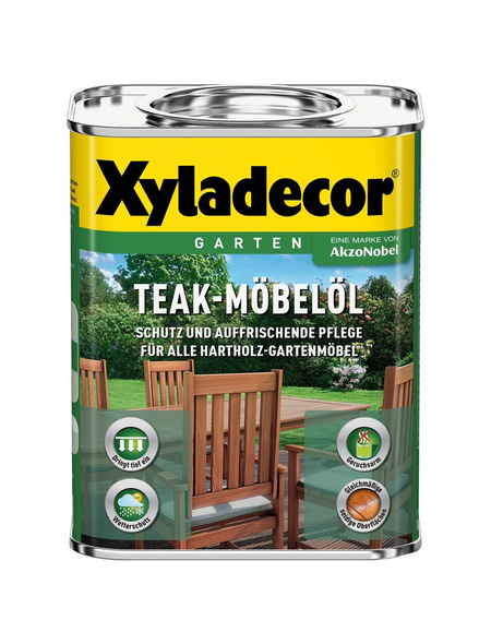 XYLADECOR Teak-Möbelöl transparent 0,75 l