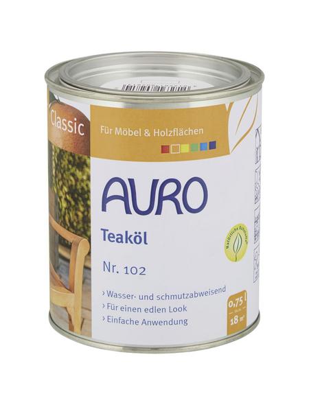 AURO Teak-Öl »Classic«, teak, 0,75 l