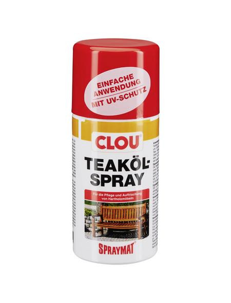 CLOU Teak-Öl »Spraymat®«, transparent, seidenglänzend, 0,3 l