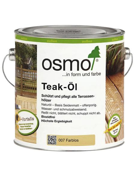 OSMO Teak-Öl, transparent, seidenmatt, 2,5 l