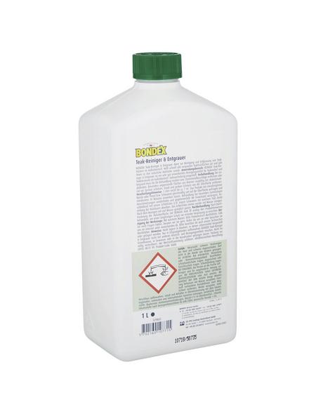 BONDEX Teakreiniger und -entgrauer Kunststoffflasche