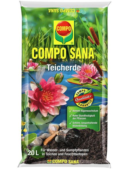 COMPO Teicherde »COMPO SANA®«, für Wasser- und Sumpfpflanzen
